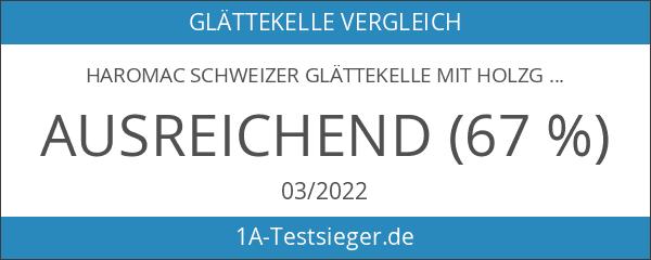 Haromac Schweizer Glättekelle mit Holzgriff