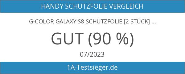G-Color Galaxy S8 Schutzfolie [2 Stück]