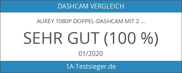 AUKEY 1080p Doppel-Dashcam mit 2