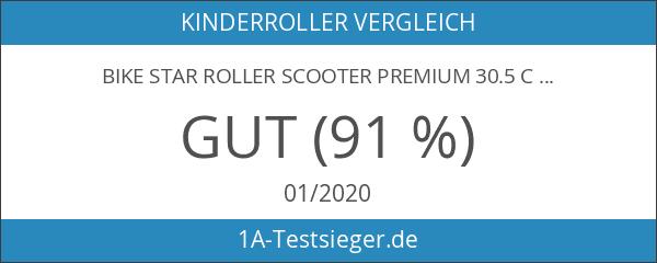 Bike Star Roller Scooter Premium 30.5cm für Kinder–Sport–Schwarz.