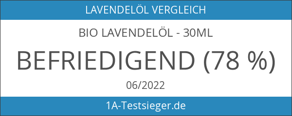 Bio Lavendelöl - 30ml