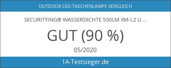 SecurityIng® Wasserdichte 550Lm XM-L2 U2-1A LED IP68 Wasserdichte Tauchens Taschenlampen