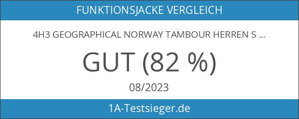 4H3 Geographical Norway Tambour Herren Softshell Jacke Outdoor Schwarz L