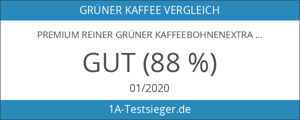 PREMIUM Reiner grüner Kaffeebohnenextrakt Max 800mg mit GCA natürlichem Gewichtsverlustpräparat