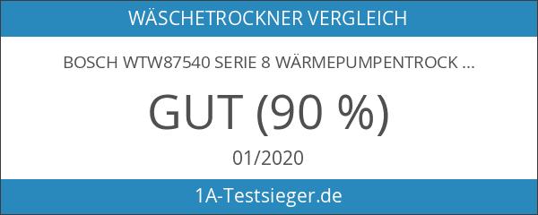 Bosch WTW87540 Serie 8 Wärmepumpentrockner