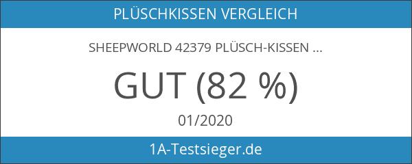 Sheepworld 42379 Plüsch-Kissen