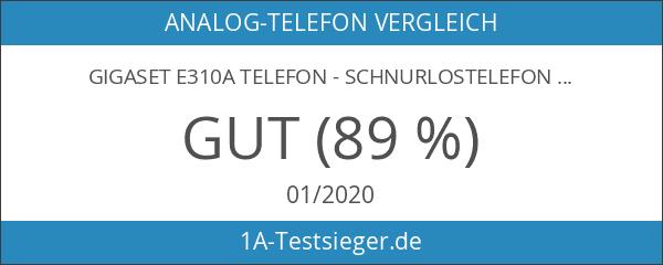 Gigaset E310A Telefon - Schnurlostelefon