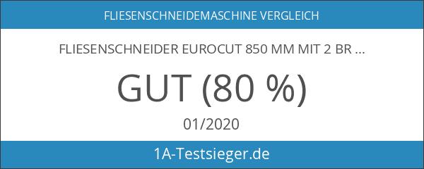 Fliesenschneider EuroCut 850 mm mit 2 Brecher