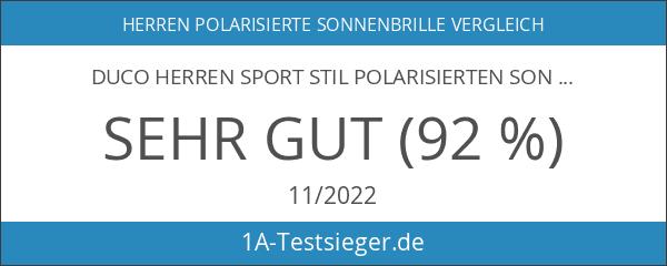Duco Herren Sport Stil Polarisierten Sonnenbrille Fahrer Glasses 8177S