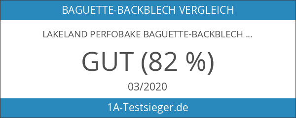Lakeland Perfobake Baguette-Backblech