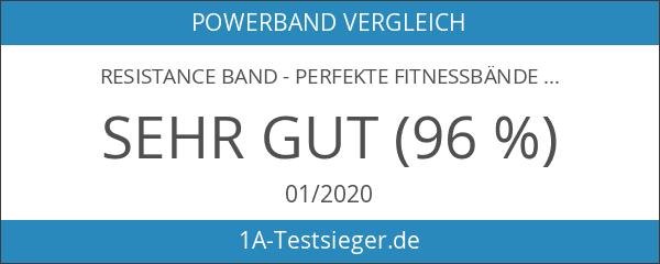 Resistance Band - perfekte Fitnessbänder & Rubber Band für effektives