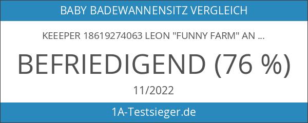 """keeeper 18619274063 leon """"funny farm"""" anatomischer babybadesitz mit anti-rutsch-funktion green"""