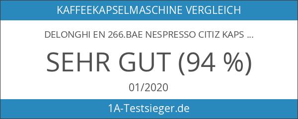DeLonghi EN 266.BAE Nespresso Citiz Kapselmaschine schwarz