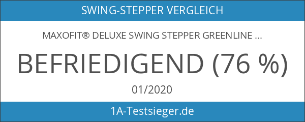 MAXOfit® Deluxe Swing Stepper Greenline MF-11 mit Zählwerk