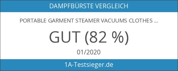 Portable Garment Steamer Vacuums Clothes Reise Dampfglätter Bügelstation Bügeln Defroisseur