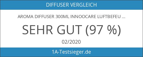 Aroma Diffuser 300ml InnooCare Luftbefeuchter Öl Ultraschall Düfte Humidifier Holzmaserung