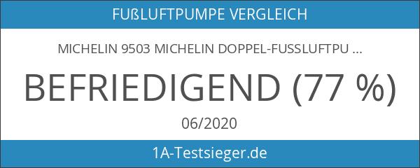 Michelin 9503 Michelin Doppel-Fussluftpumpe