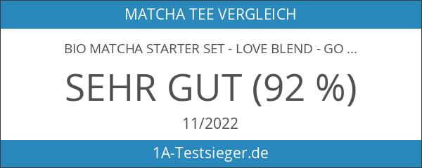 Bio Matcha Starter Set - Love Blend - Gold Prämiert