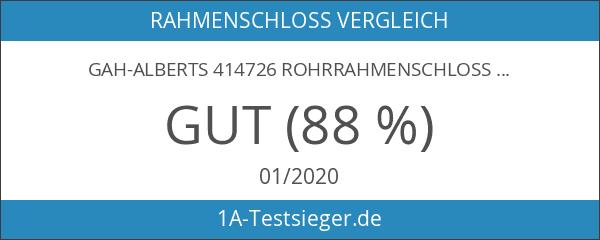 GAH-Alberts 414726 Rohrrahmenschloss