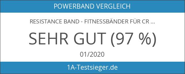 Resistance Band - Fitnessbänder für Crossfit und Calisthenics - Klimmzug-Band