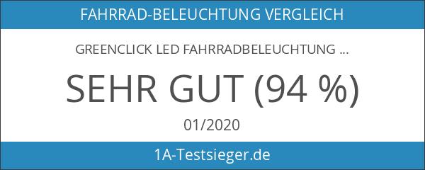 GreenClick LED Fahrradbeleuchtung