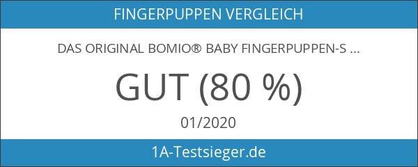DAS ORIGINAL BOMIO® Baby Fingerpuppen-Set zum Spielen und Lernen