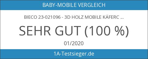 Bieco 23-021096 - 3D Holz Mobile Käferchen