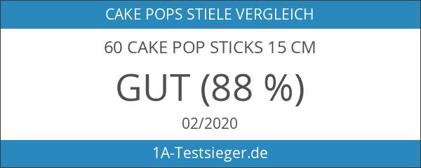 60 Cake Pop Sticks 15 cm