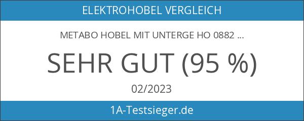 Metabo Hobel mit Unterge Ho 0882