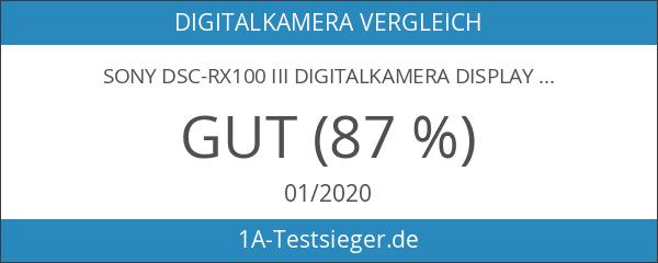 Sony DSC-RX100 III Digitalkamera Display