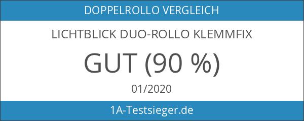 Lichtblick KDR.090.150.02 Duo-Rollo Klemmfix