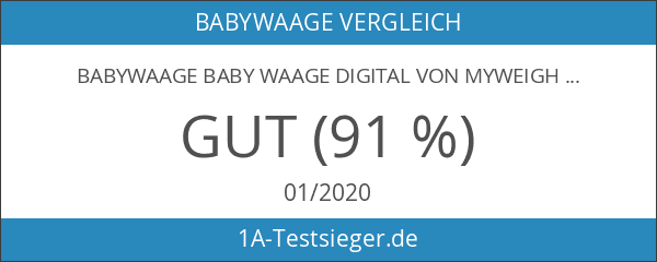 Babywaage Baby Waage digital von MyWeigh.