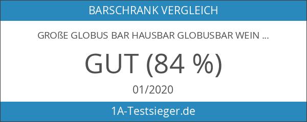 Große Globus BAR Hausbar Globusbar Wein Regal Minibar 110cm x