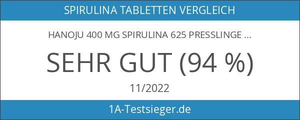Hanoju 400 mg Spirulina 625 Presslinge