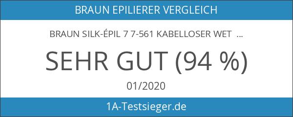 Braun Silk-épil 7 7-561 kabelloser Wet & Dry Epilierer