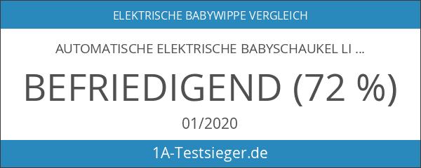 Automatische Elektrische Babyschaukel Little World: Dreamday GRAU verstellbar 5 Schaukelstufen