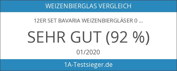 12er Set Bavaria Weizenbiergläser 0