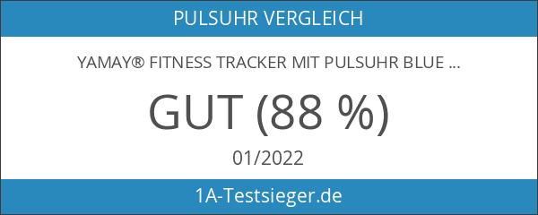 YAMAY® Fitness Tracker mit Pulsuhr Bluetooth Fitness Armband Aktivitätstracker Schrittzähler