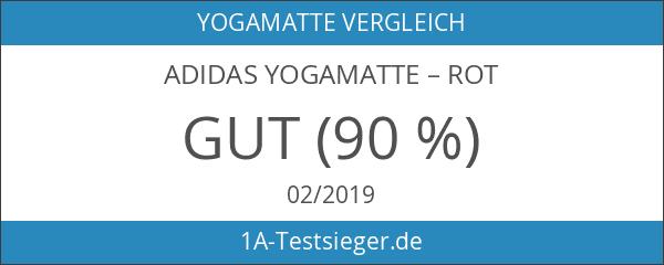 Adidas Yogamatte–rot