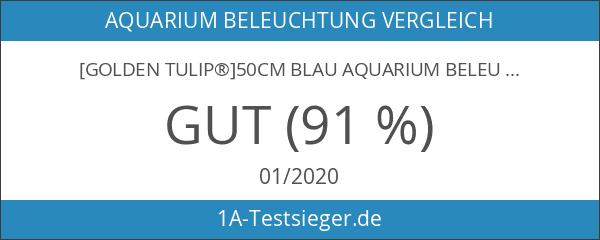 [Golden Tulip®]50CM Blau Aquarium Beleuchtung Mondlicht Lampe Wasserdicht Aquariumlampe 290016