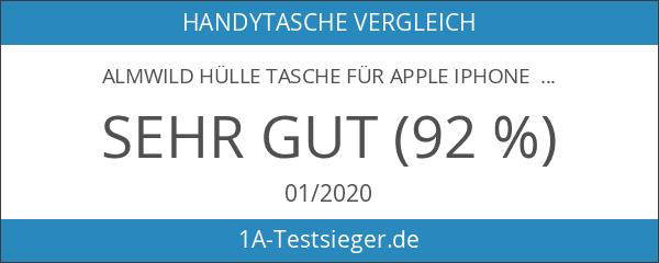 ALMWILD® Hülle Tasche für Apple iPhone 6s