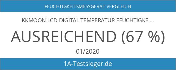 KKmoon LCD Digital Temperatur Feuchtigkeit Datenerfassung Logger Meter Thermometer Hygrometer