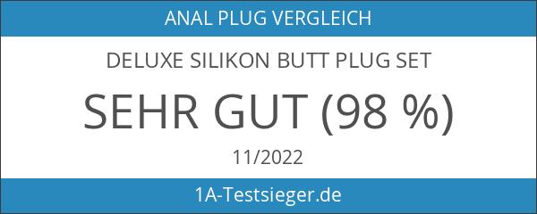 Deluxe Silikon Butt Plug Set