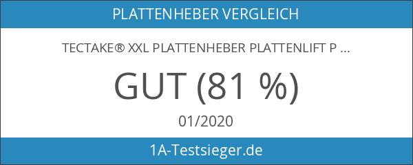 TecTake® XXL Plattenheber Plattenlift Paneelheber Montagehilfe Rigibsplatten Heber klappbar
