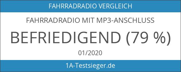 Fahrradradio mit MP3-Anschluss