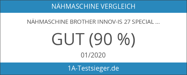 Nähmaschine Brother Innov-is 27 Special Edition