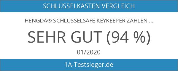 Hengda® Schlüsselsafe KeyKeeper Zahlencode Schlüsselkasten
