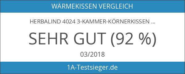Herbalind 4024 3-Kammer-Körnerkissen
