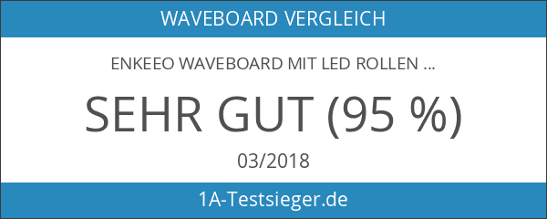 Enkeeo Waveboard mit LED Rollen