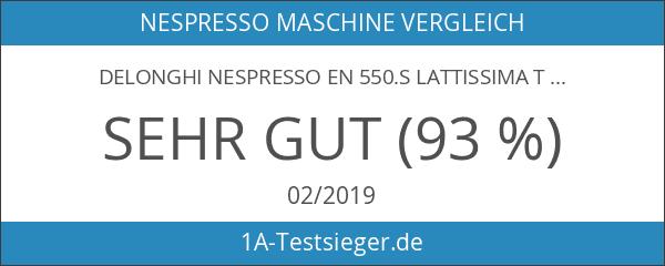 DeLonghi Nespresso EN 550.S Lattissima Touch Kapselmaschine silber